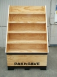 Pine Ply Waterfall Display Unit