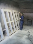 On-site Spray Booth