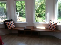 Keruing Ply Window Seat